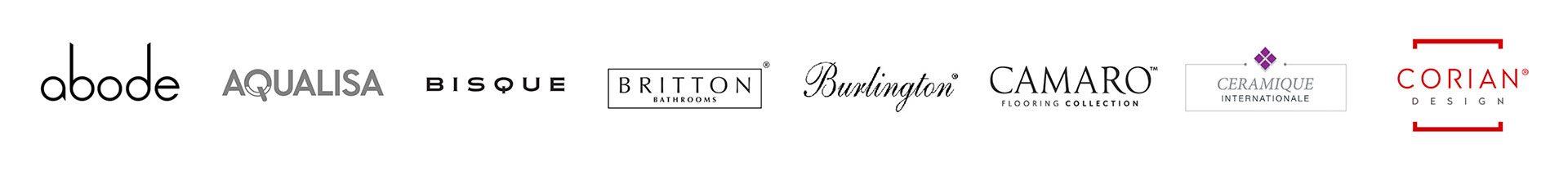Bathroom and Kitchen brands we supply